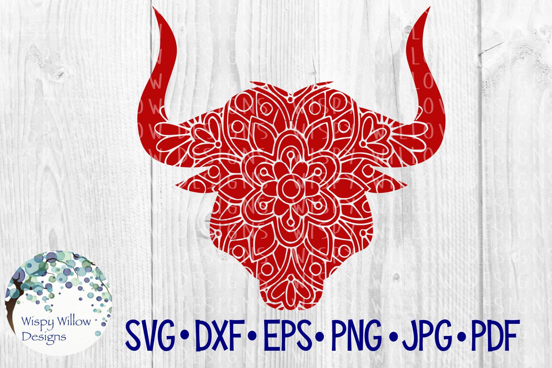 62 File Mega Floral Mandala Animal/Figure SVG Bundle example image 16
