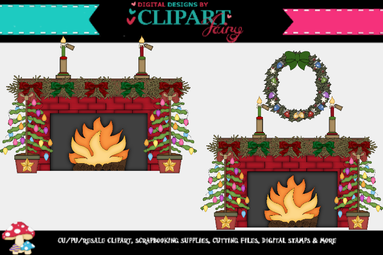 Christmas Fireplaces 2 example image 2