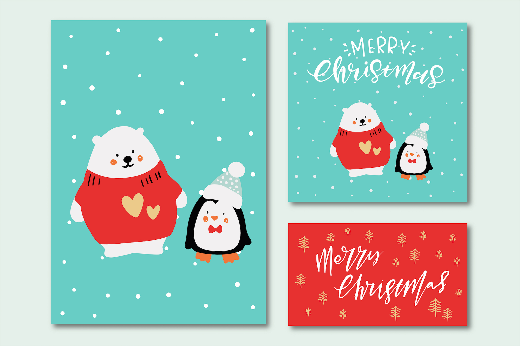 Merry Christmas Characters! example image 2