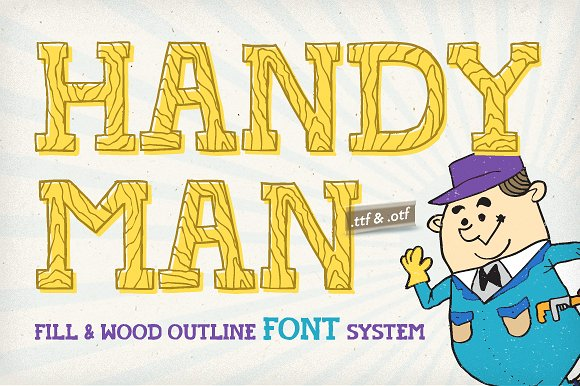 Handyman Font Full Service example image 3