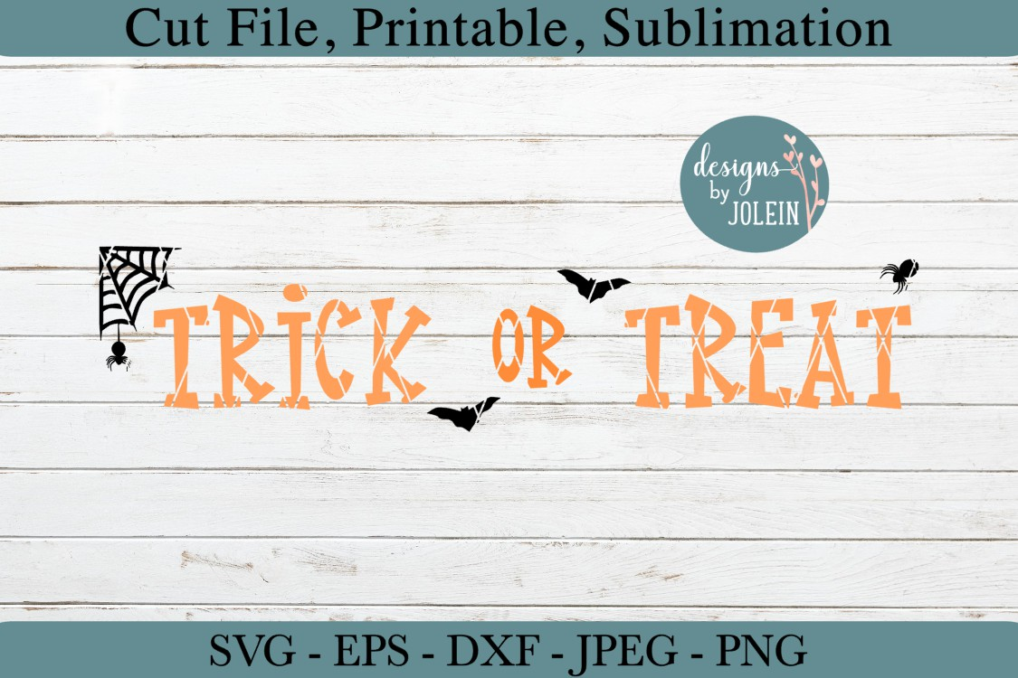 Trick or Treat SVG, png, eps, jpeg, DXF, sublimation example image 4