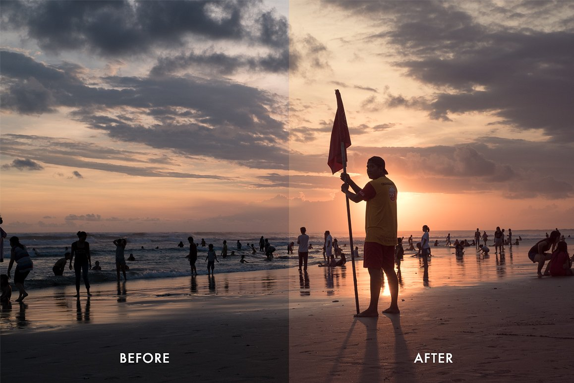 Cinematic Aspect Ratio PS Action & Lightroom Presets example image 4