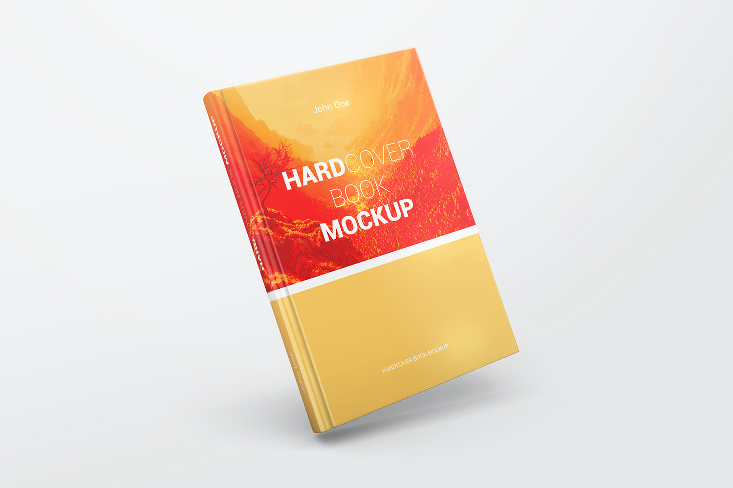 Hardcover Book Mockups example image 7