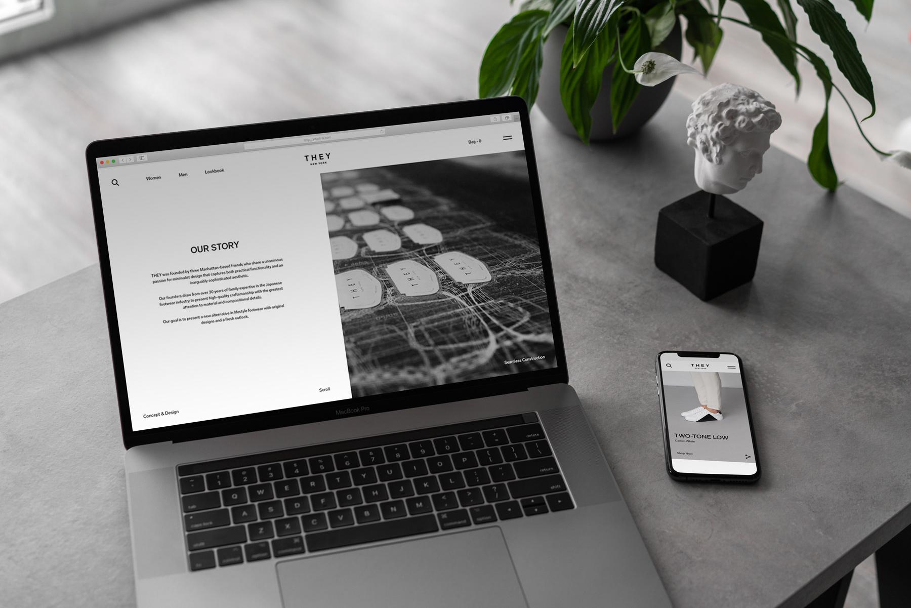 MacBook Pro Mock-Up Loft Style example image 12