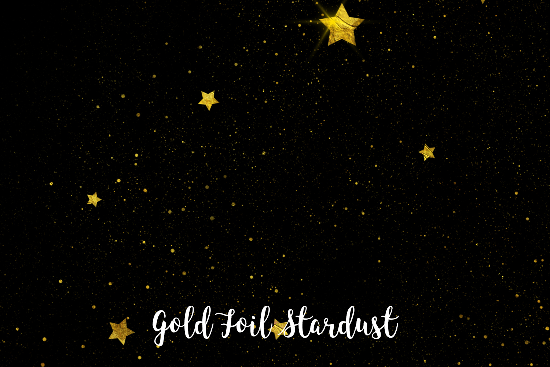 Gold Foil Stardust, Transparent PNG example image 5