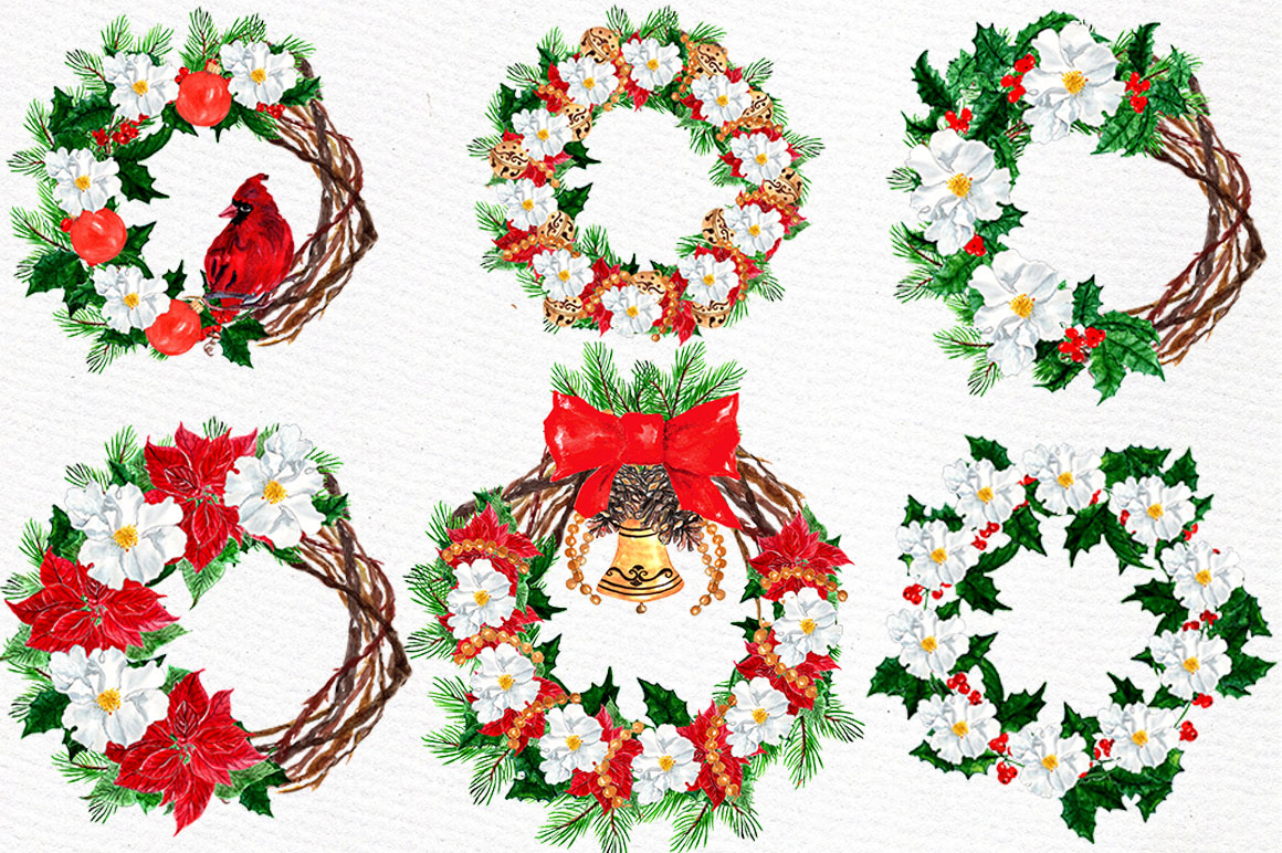 Christmas Clipart Collection example image 3