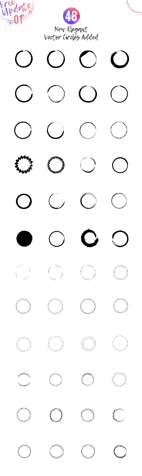 HUGE! Feminine Logo Creator Kit Circle Edition example image 9