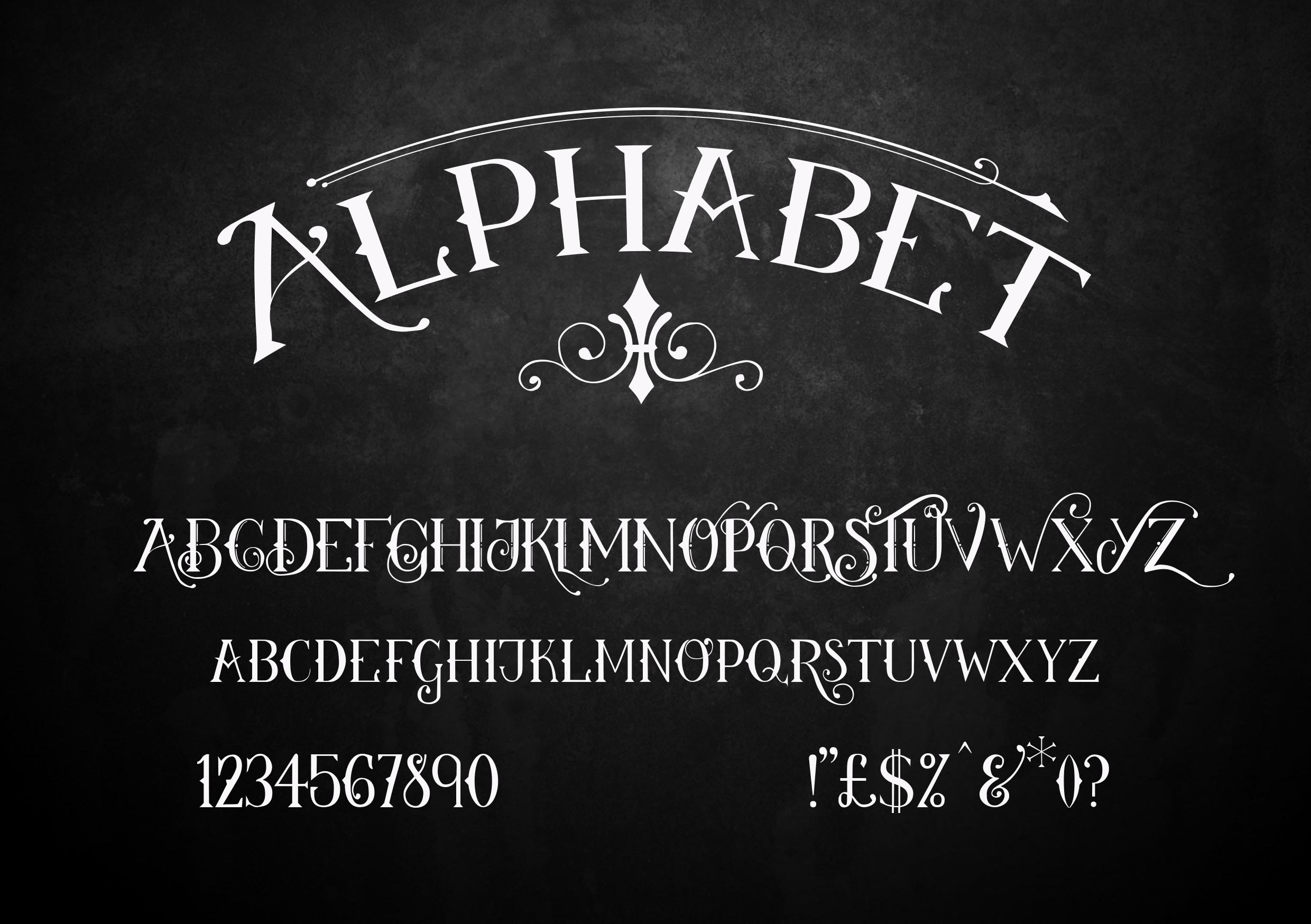 Wanderlust-a vintage style display font example image 5