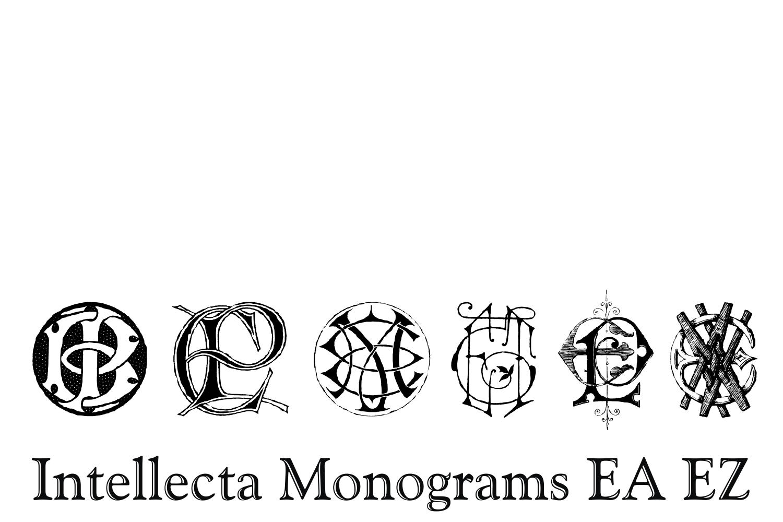 Intellecta Monograms EA EZ example image 5