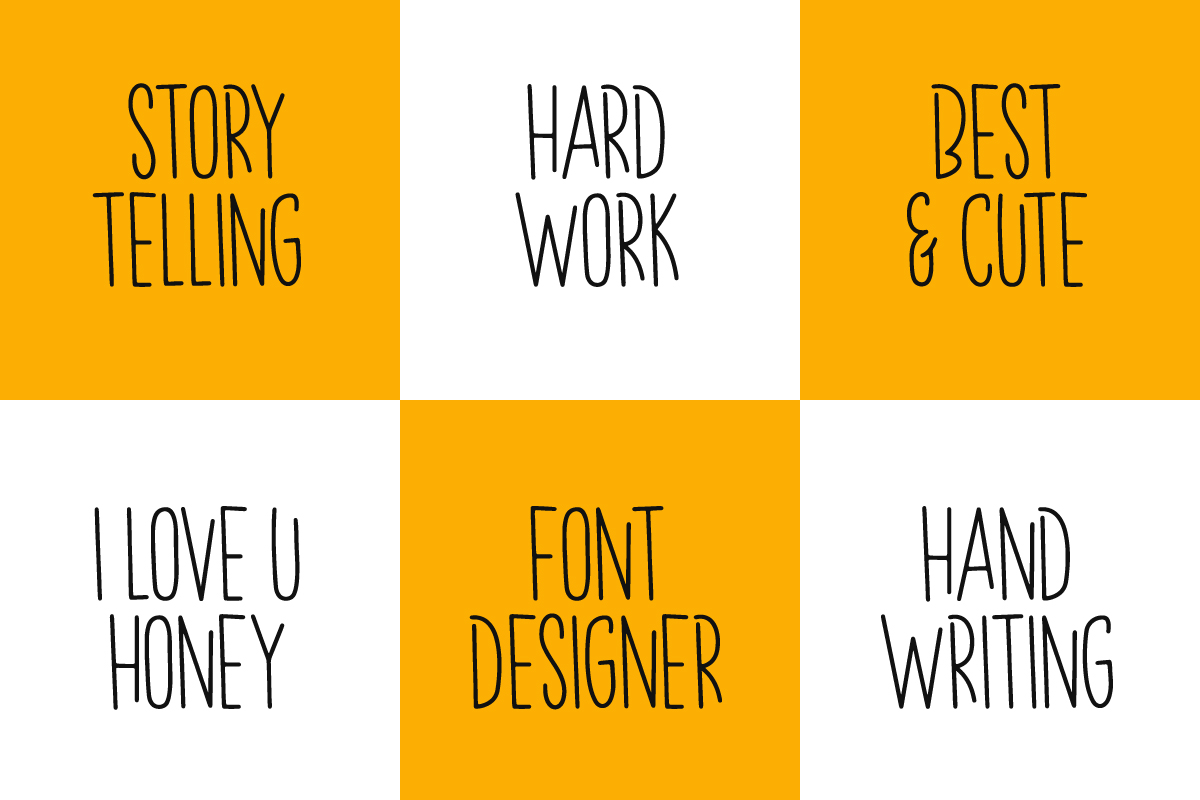 Spring Holiday   3 Handwritten Font example image 4