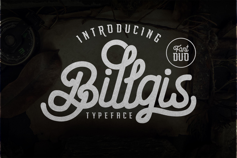 Billgis Font Duo example image 1