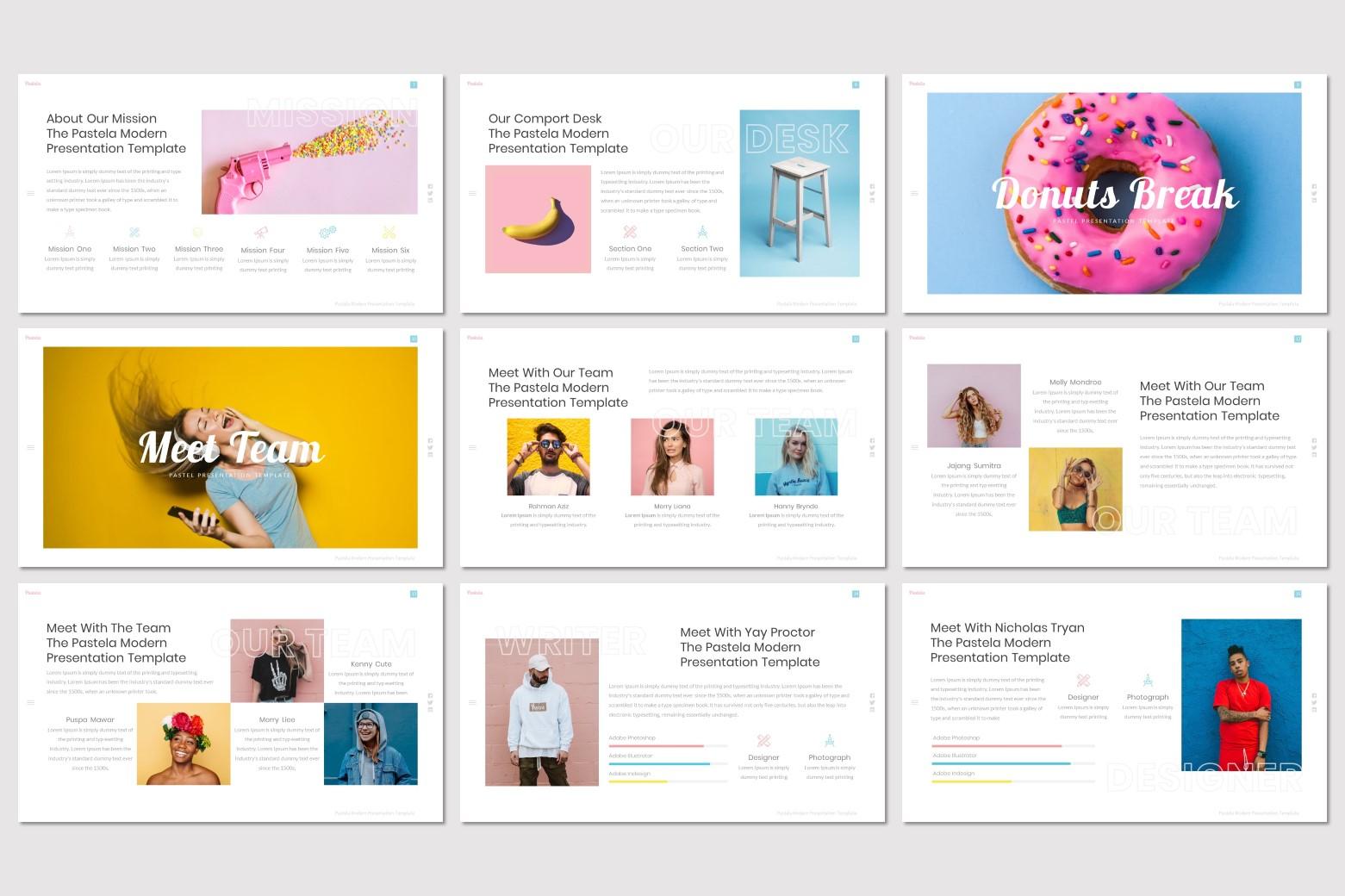 Pastela - Google Slides Template example image 3