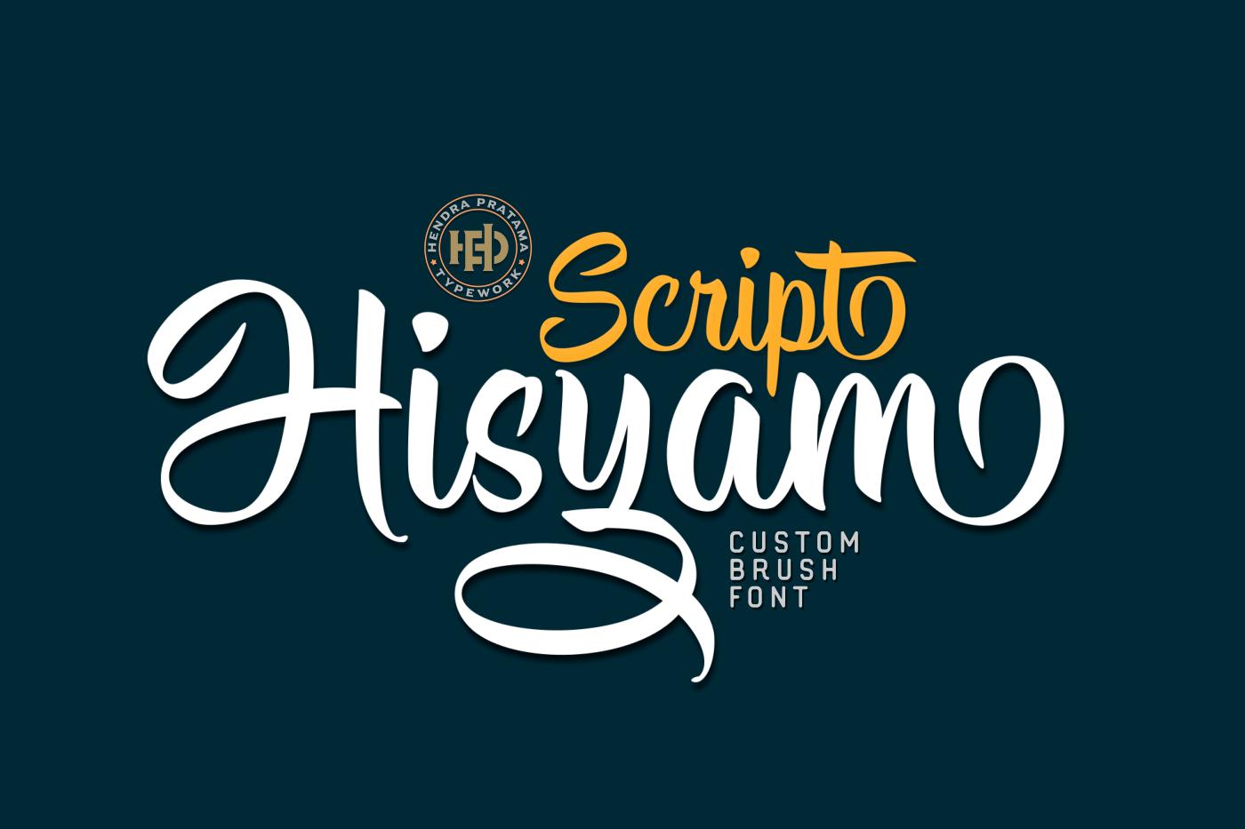 Hisyam Script example image 2