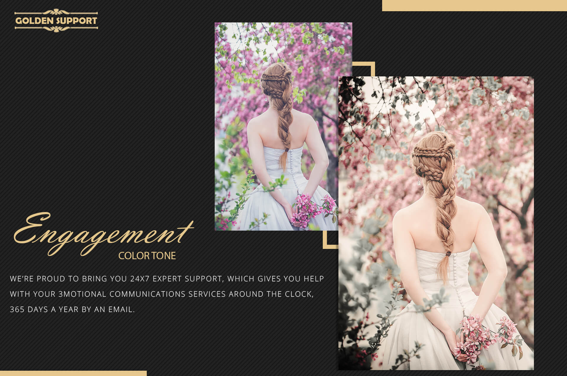 Engagement Color Grading Photoshop actions Filter example image 7