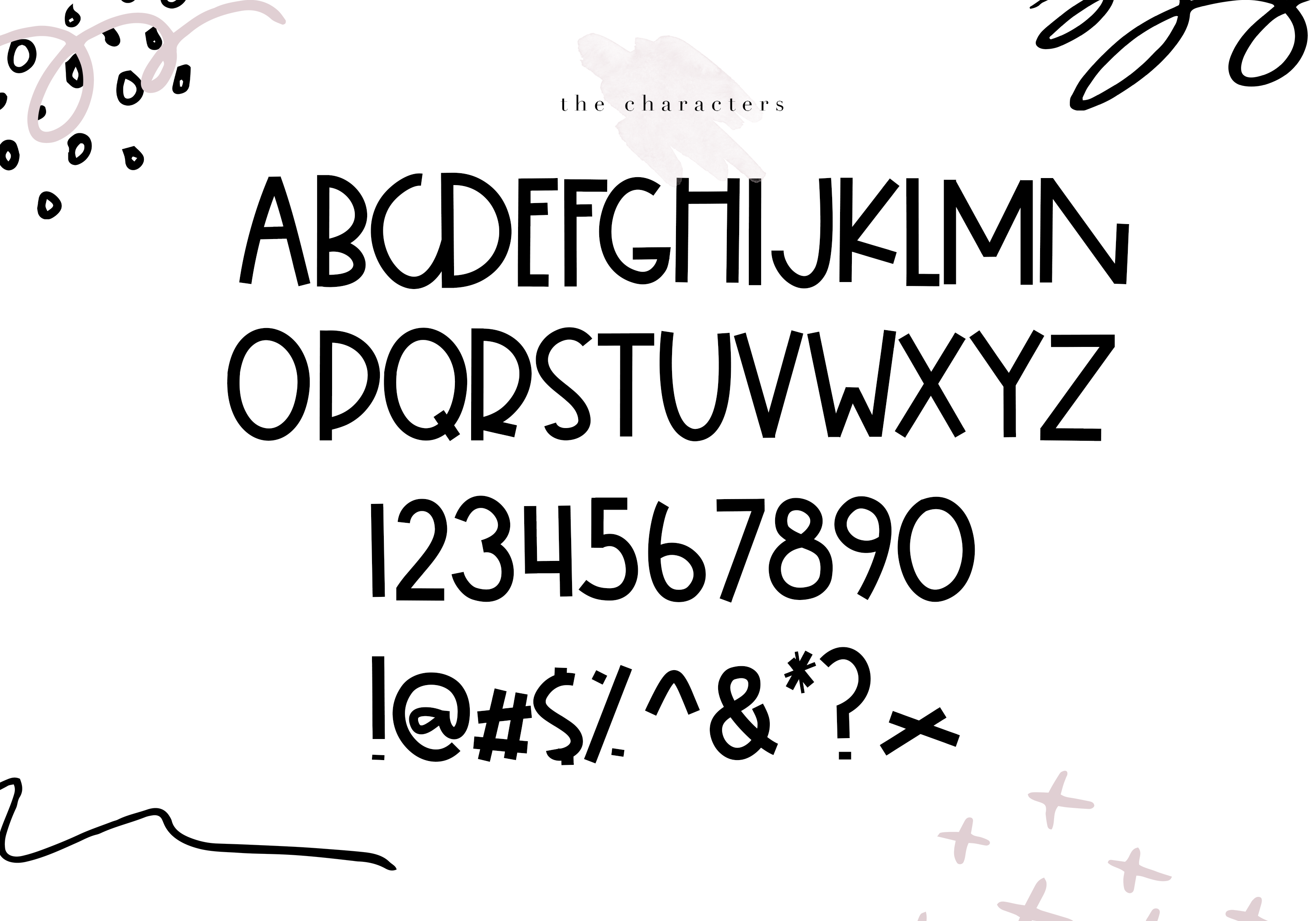 Snicker - A Bold Handwritten Font example image 7