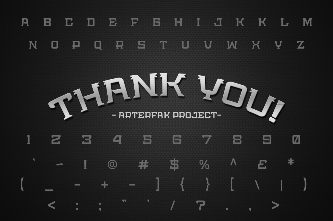 Bedengkang Typeface example image 6