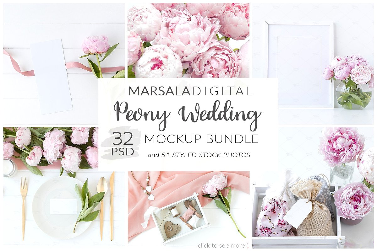 Wedding Mockup Bundle 400 Massive Wedding Mockups Bundle example image 3