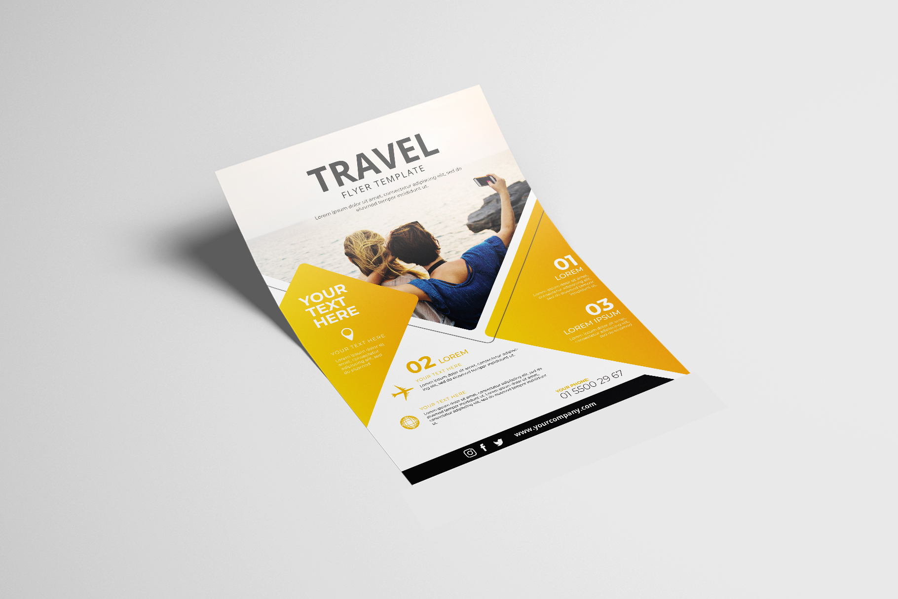 Travel Flyer Vol. 01 example image 2