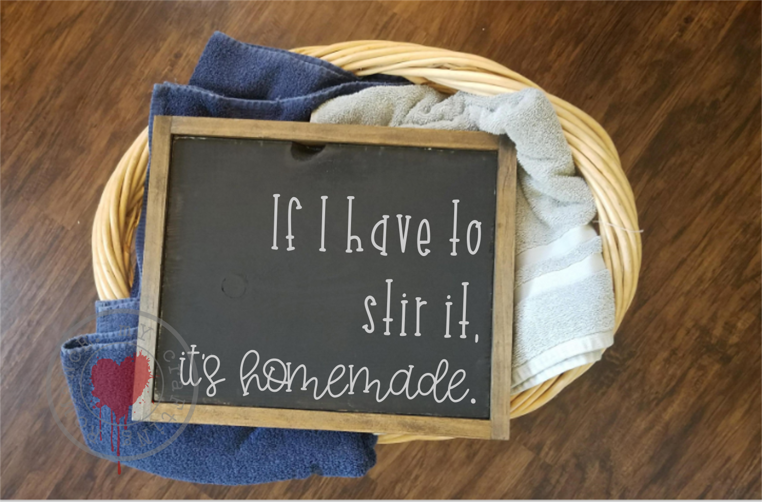 If I Have To Stir It, It's Homemade - Funny Kitchen SVG example image 2