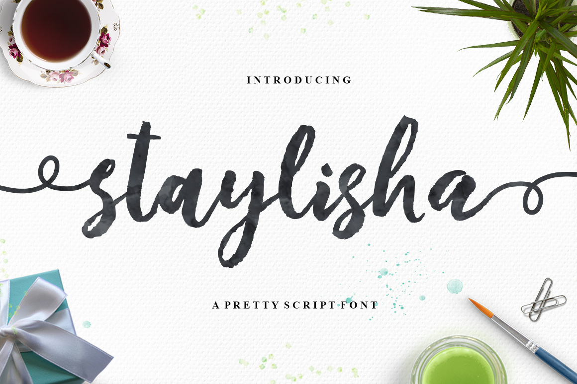 Staylisha Script example image 1