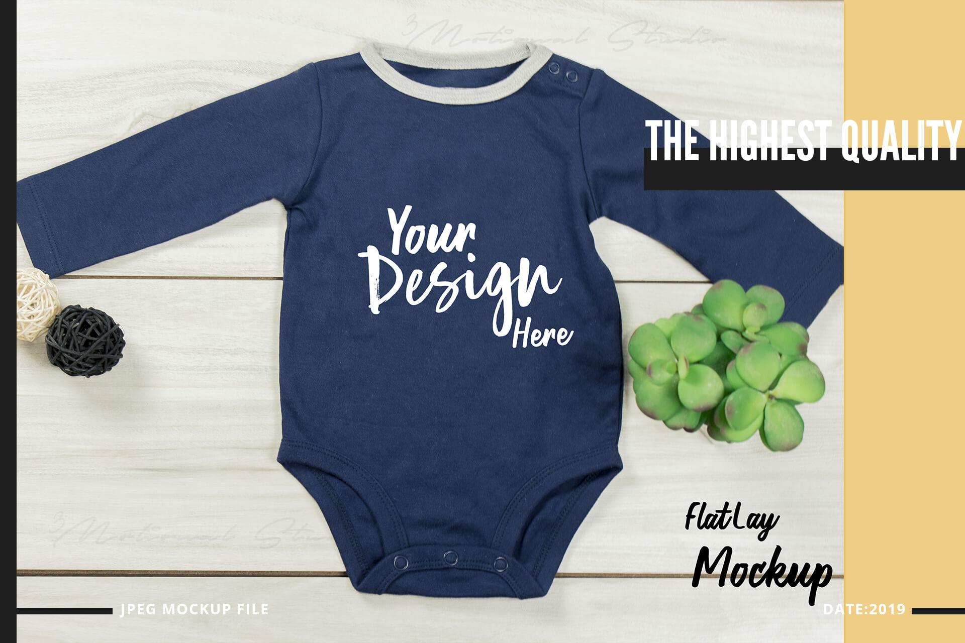 Neo Baby T-Shirt Mockup Volume 31 example image 3