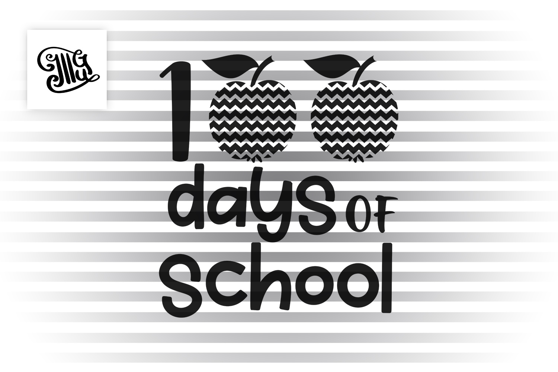 100 Days of school boys svg example image 2