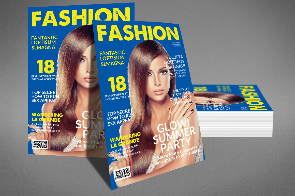Magazine Template example image 2