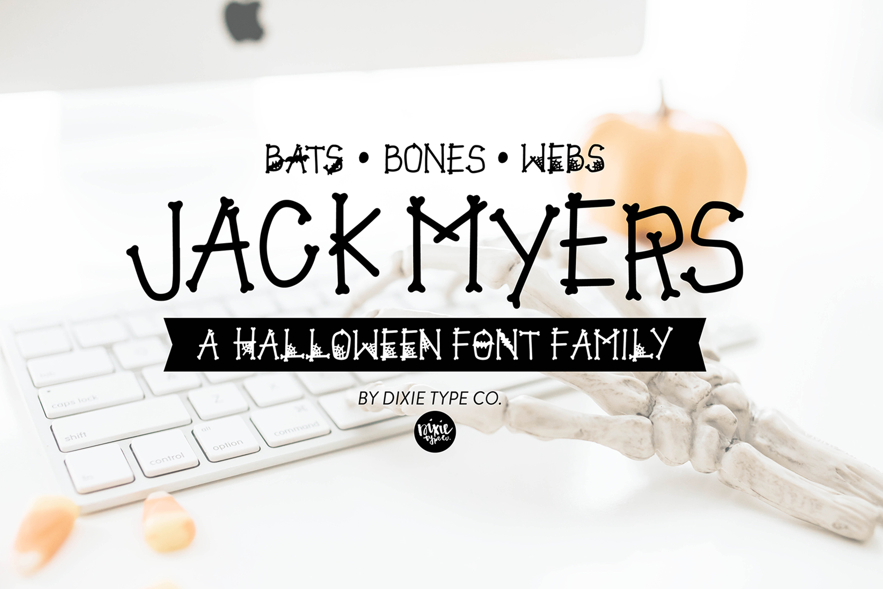 JACK MYERS a Halloween Font Family example image 1