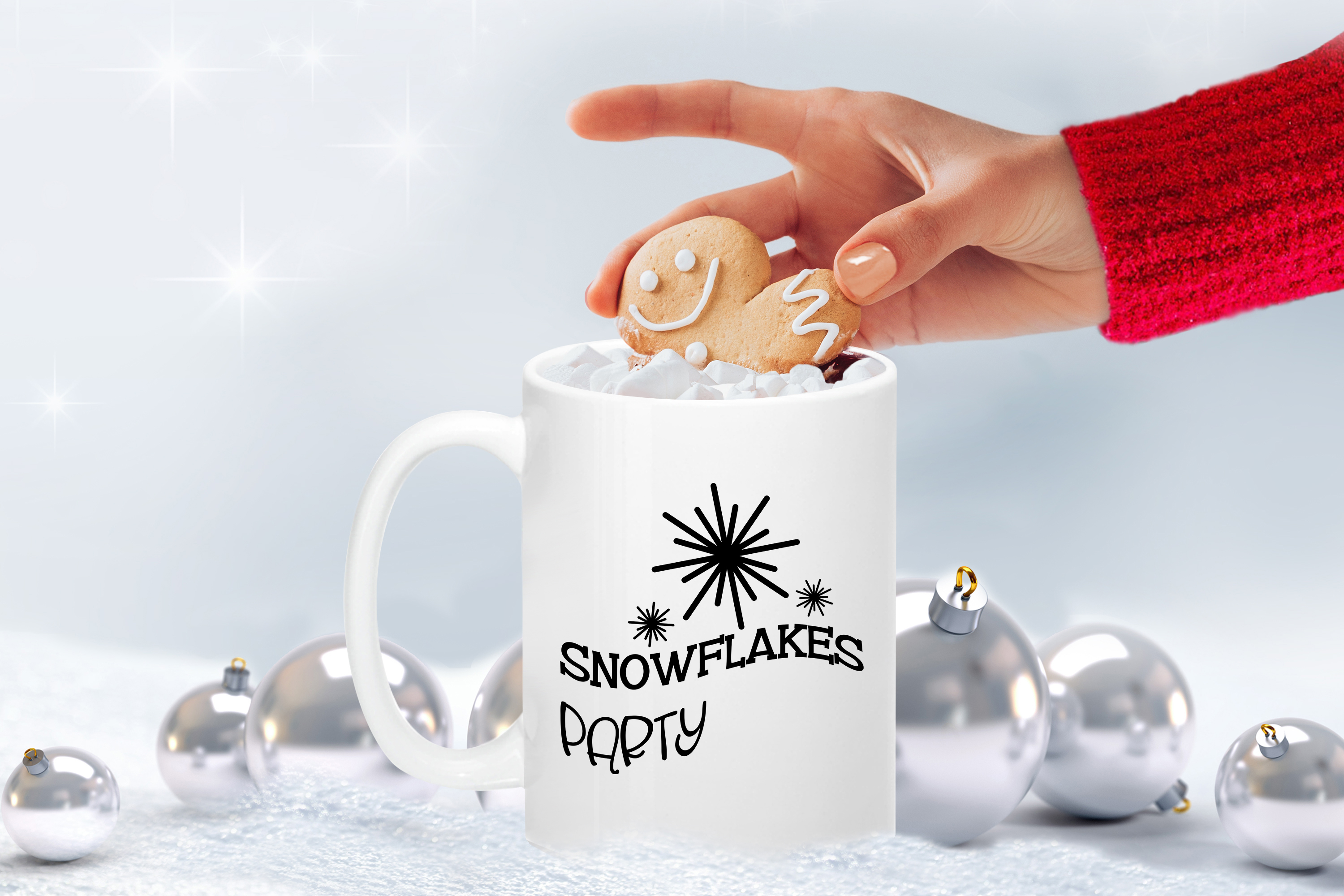 Snowflakes Party example image 2