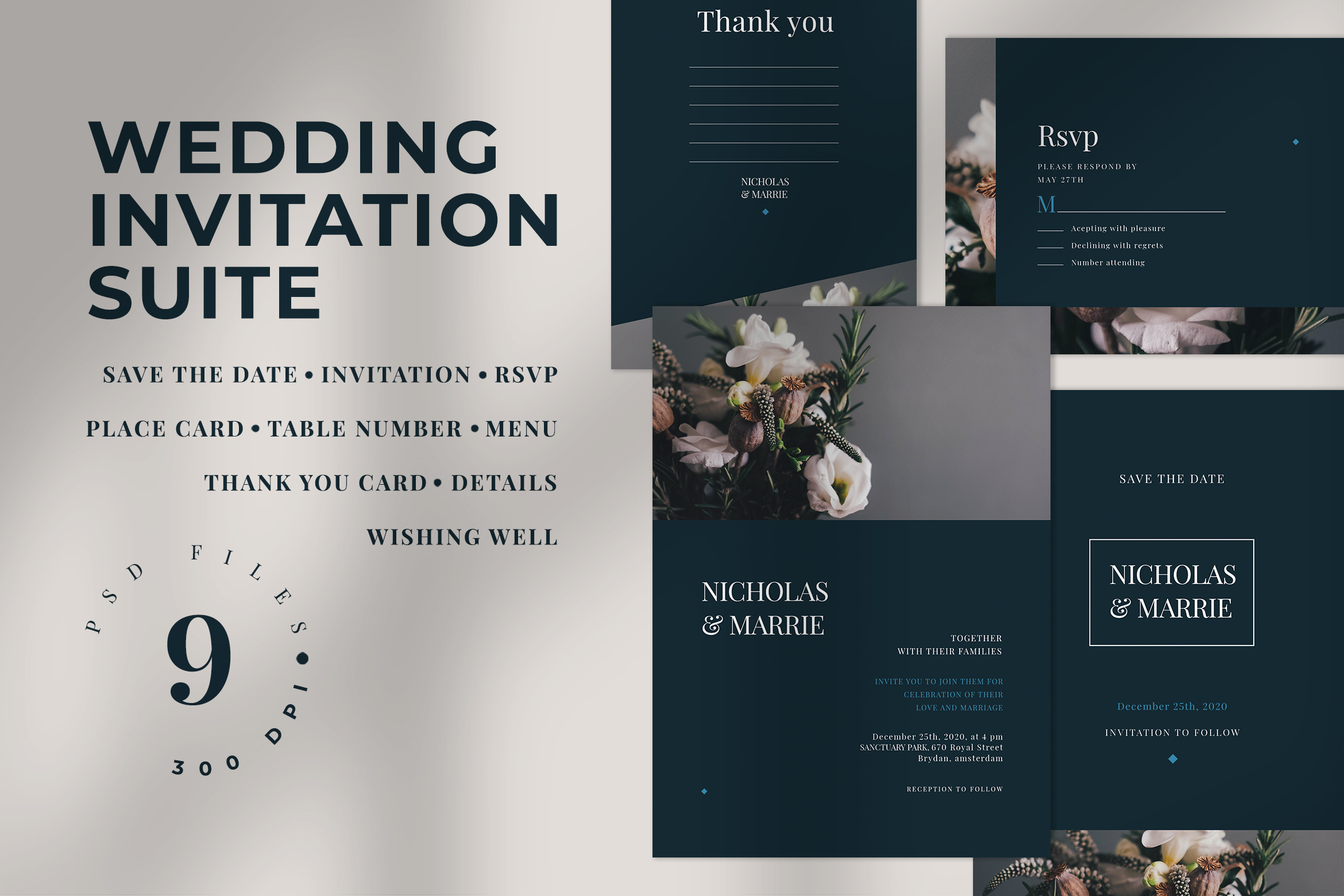 Wedding Invitation Suite example image 1