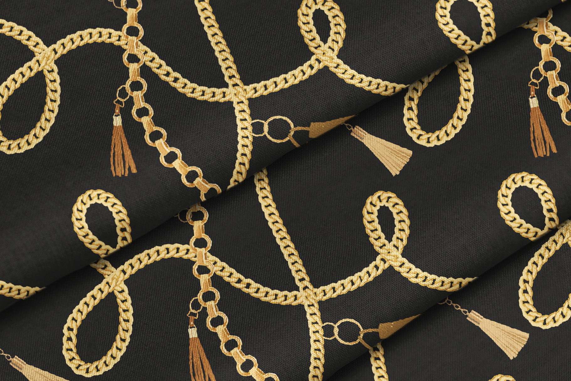 Chains and Belts Seamless Patterns. Set 1 example image 4