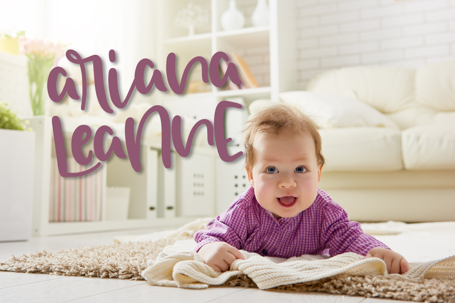 Ariana Leanne - A Hand Lettered Font example image 9