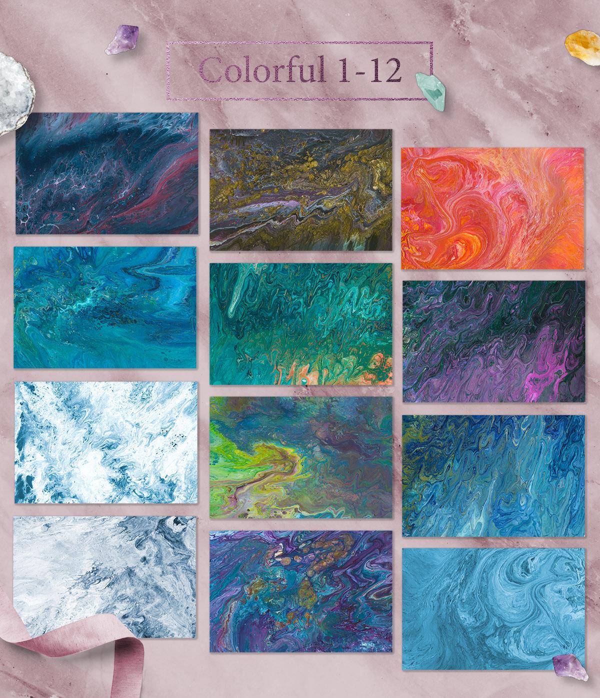 108 Flow Liquid Textures example image 5
