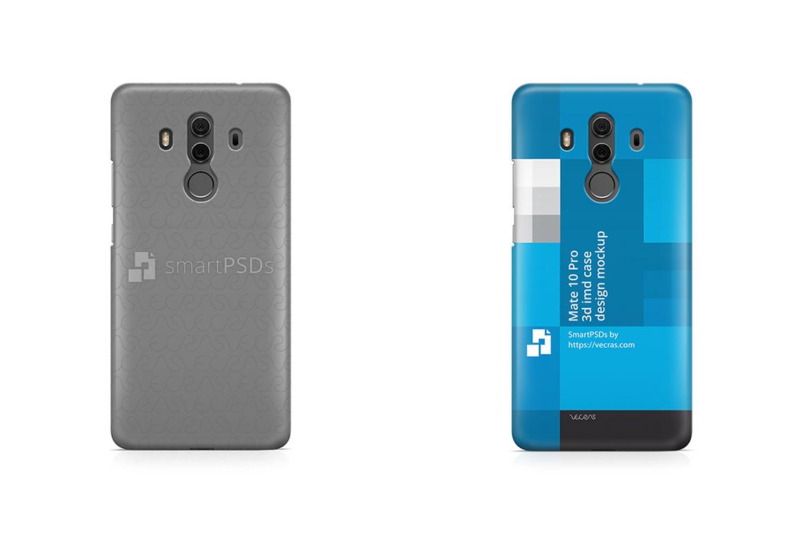 Huawei Mate 10 Pro 3d IMD Mobile Case Design Mockup 2017 example image 1