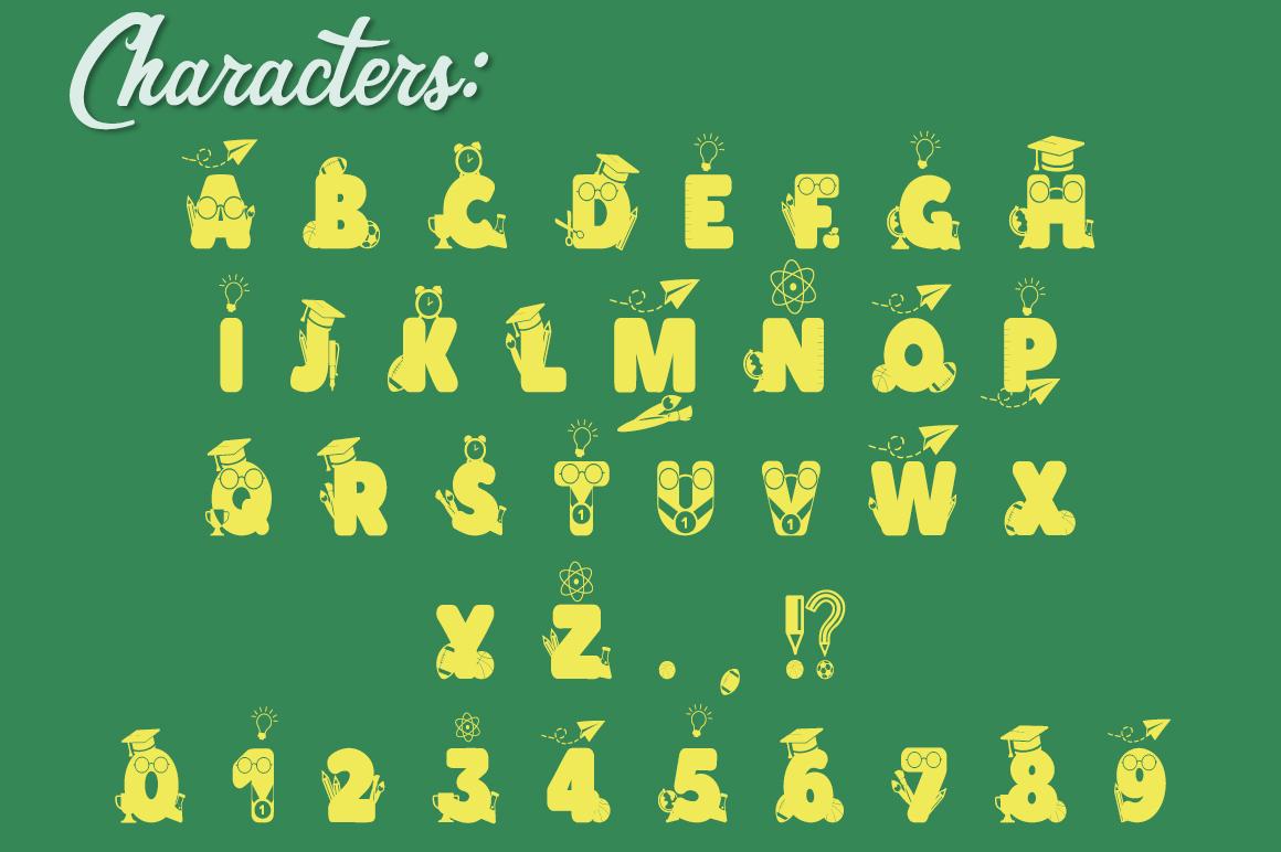 The Crafter's Font Bundle - 12 Font Families & Bonus Extras example image 25