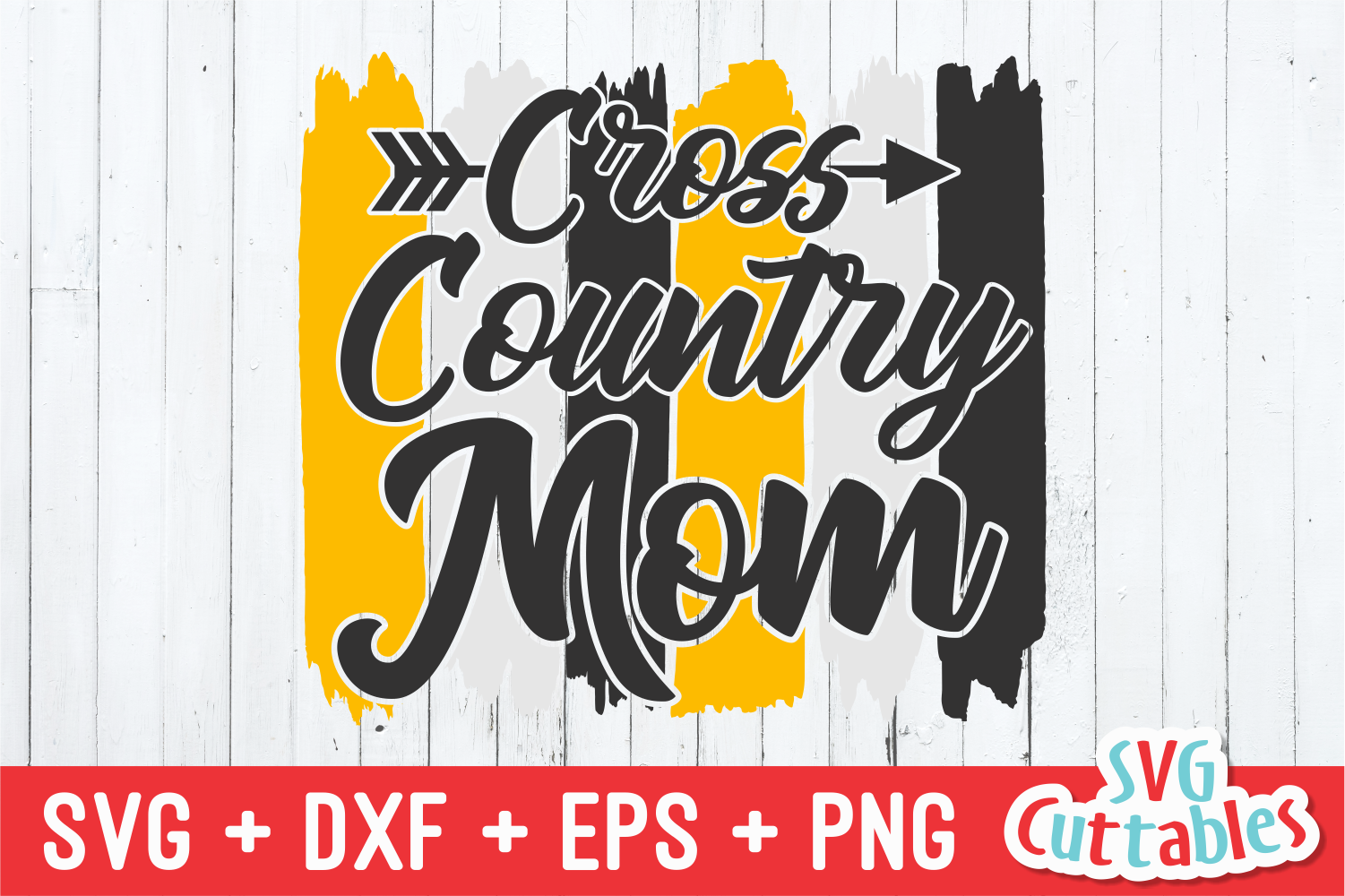 Cross Country Mom | SVG Cut File example image 2