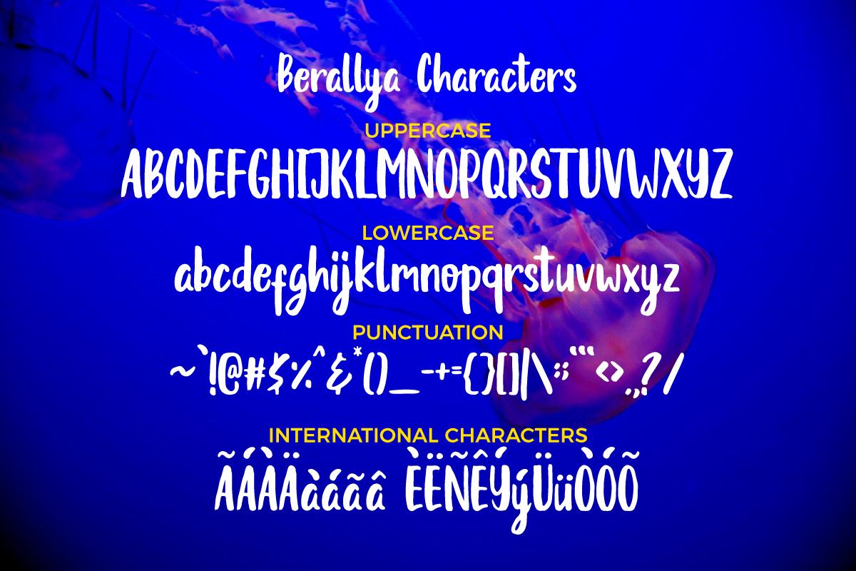 Berallya example image 4