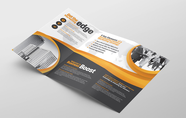 Marketing Seminar Tri-Fold Brochure Template example image 2