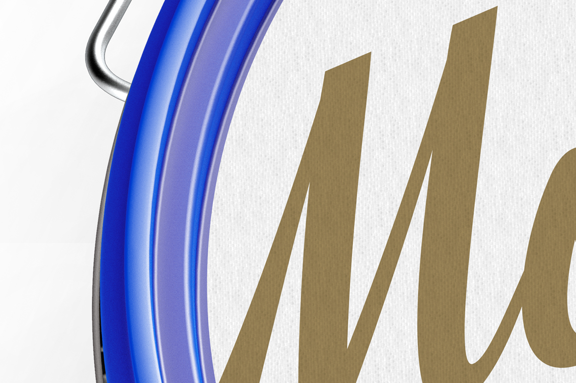 Plastic Paint Bucket Mockup example image 5