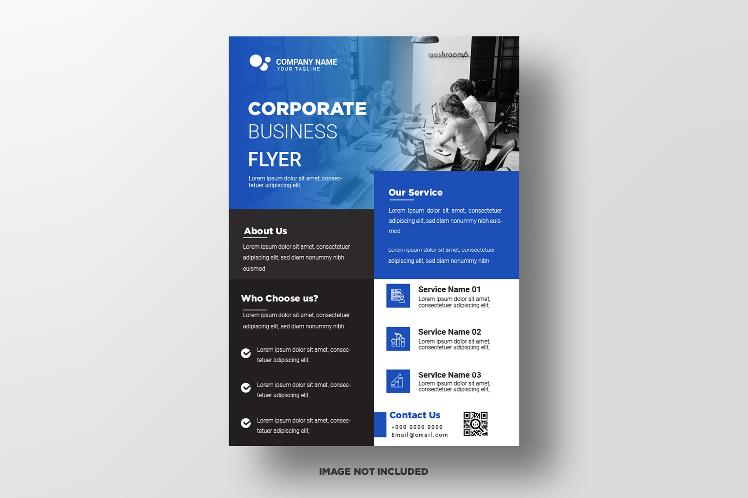 Business Flyer Template. Vol-01 example image 1