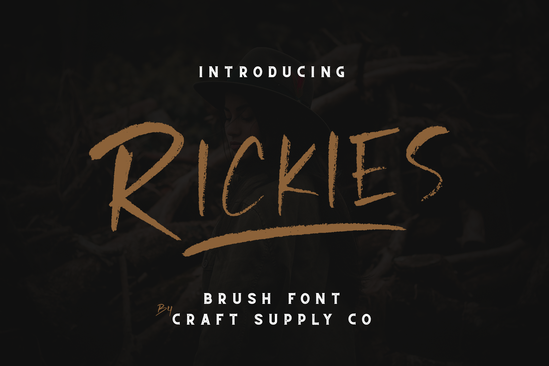 Rickies - Brush Font example image 6