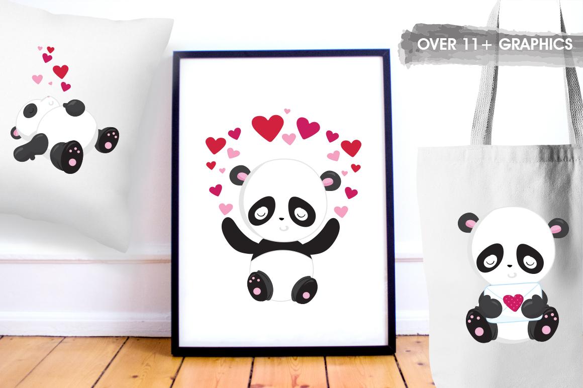 Panda Bear graphics and illustrations example image 5