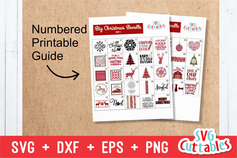 Big Christmas Bundle |Cut File's example image 3