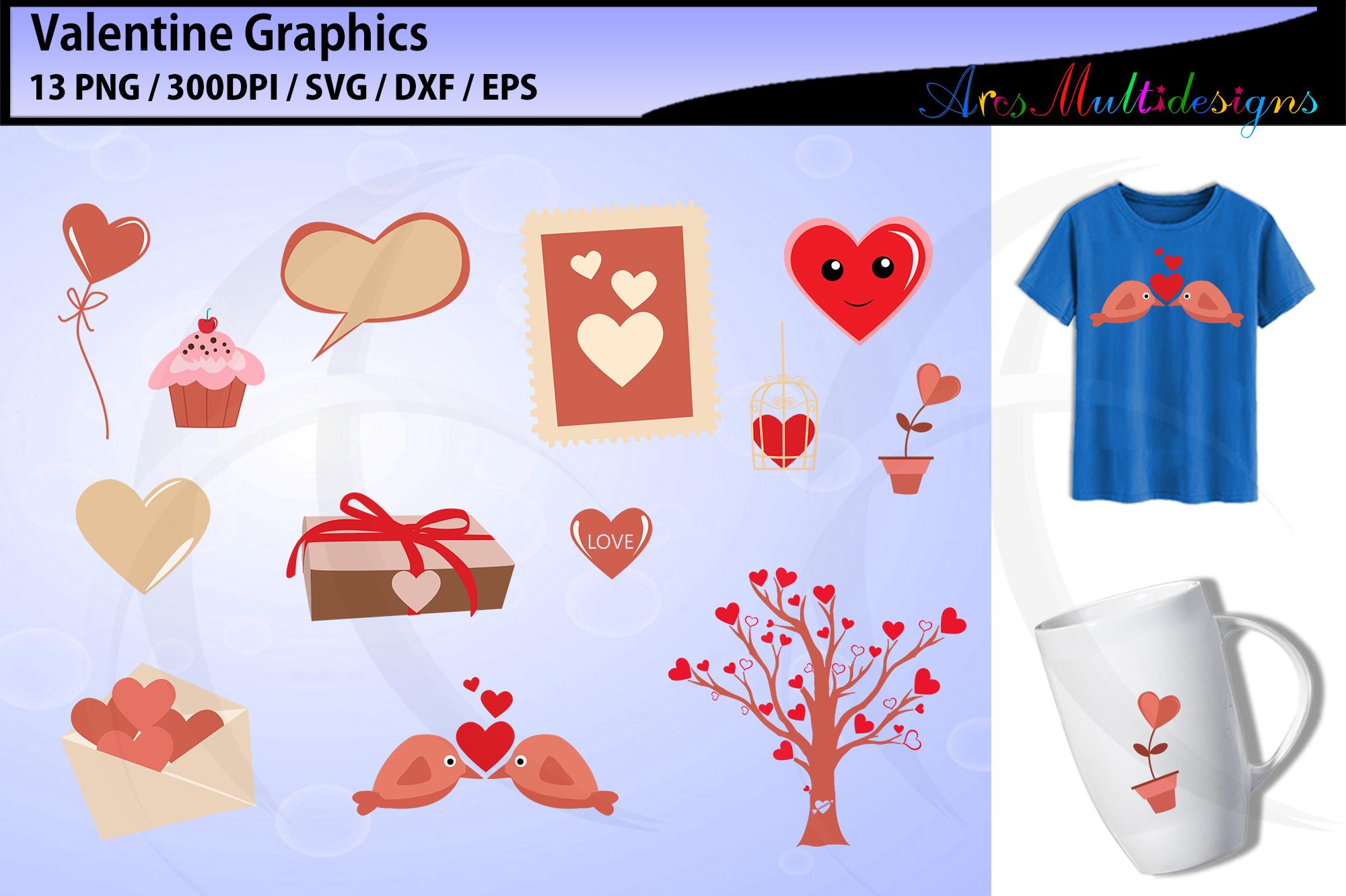 valentine svg / valentine graphics / valentine's day clipart example image 1