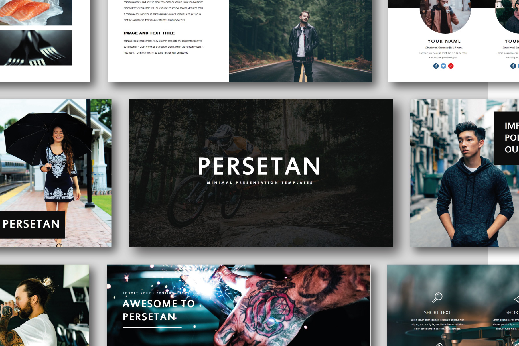 Persetan Multipurpose KeynoteTemplates example image 1