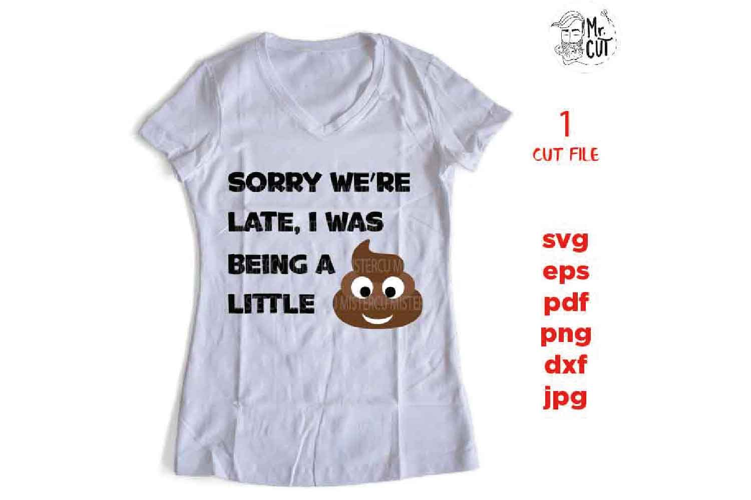 Sorry we're late, i was being a little SVG, poo poo, funny s example image 2