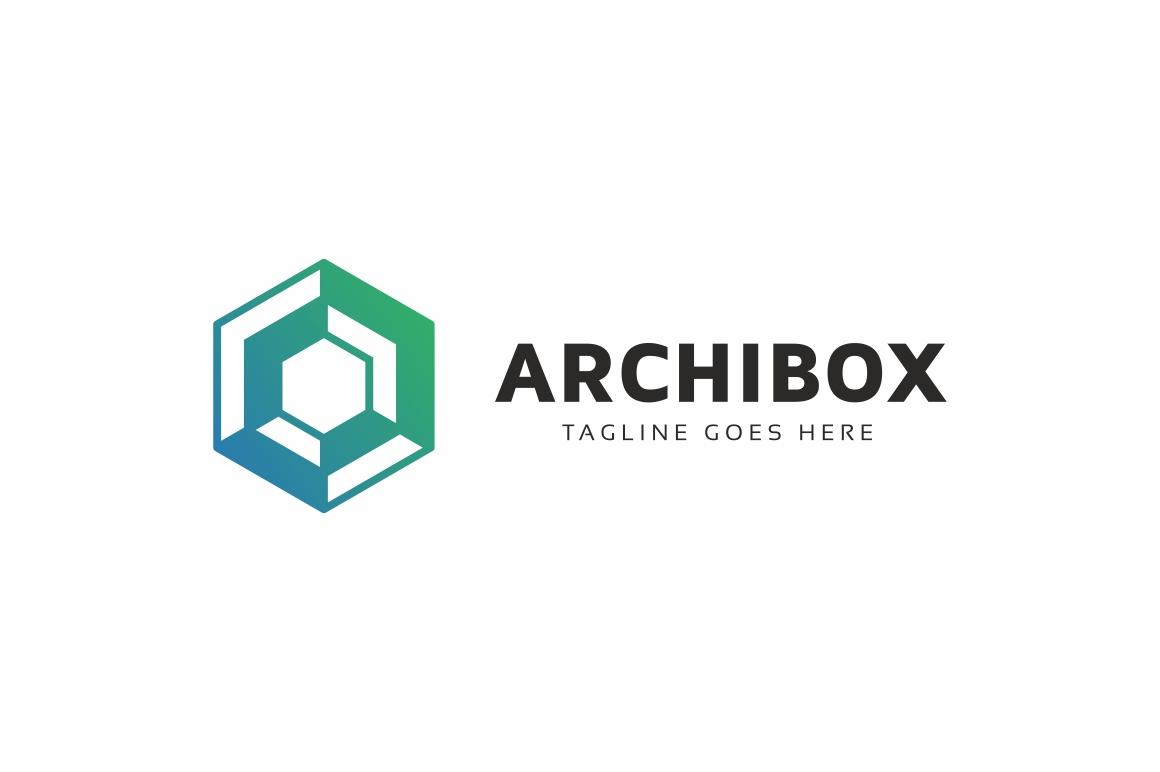 Hexagon Box Logo example image 3