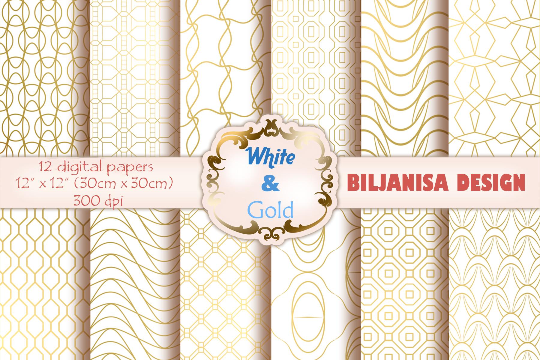 Ornamental luxury seamless patterns example image 1