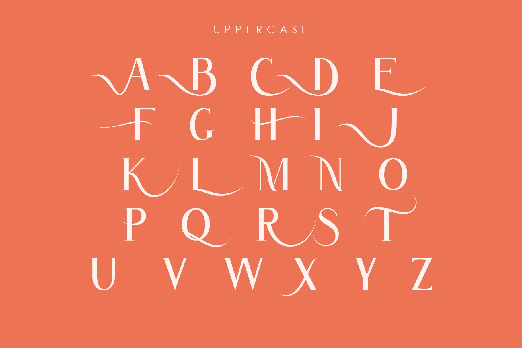 Atlane Casual Serif Font example image 6