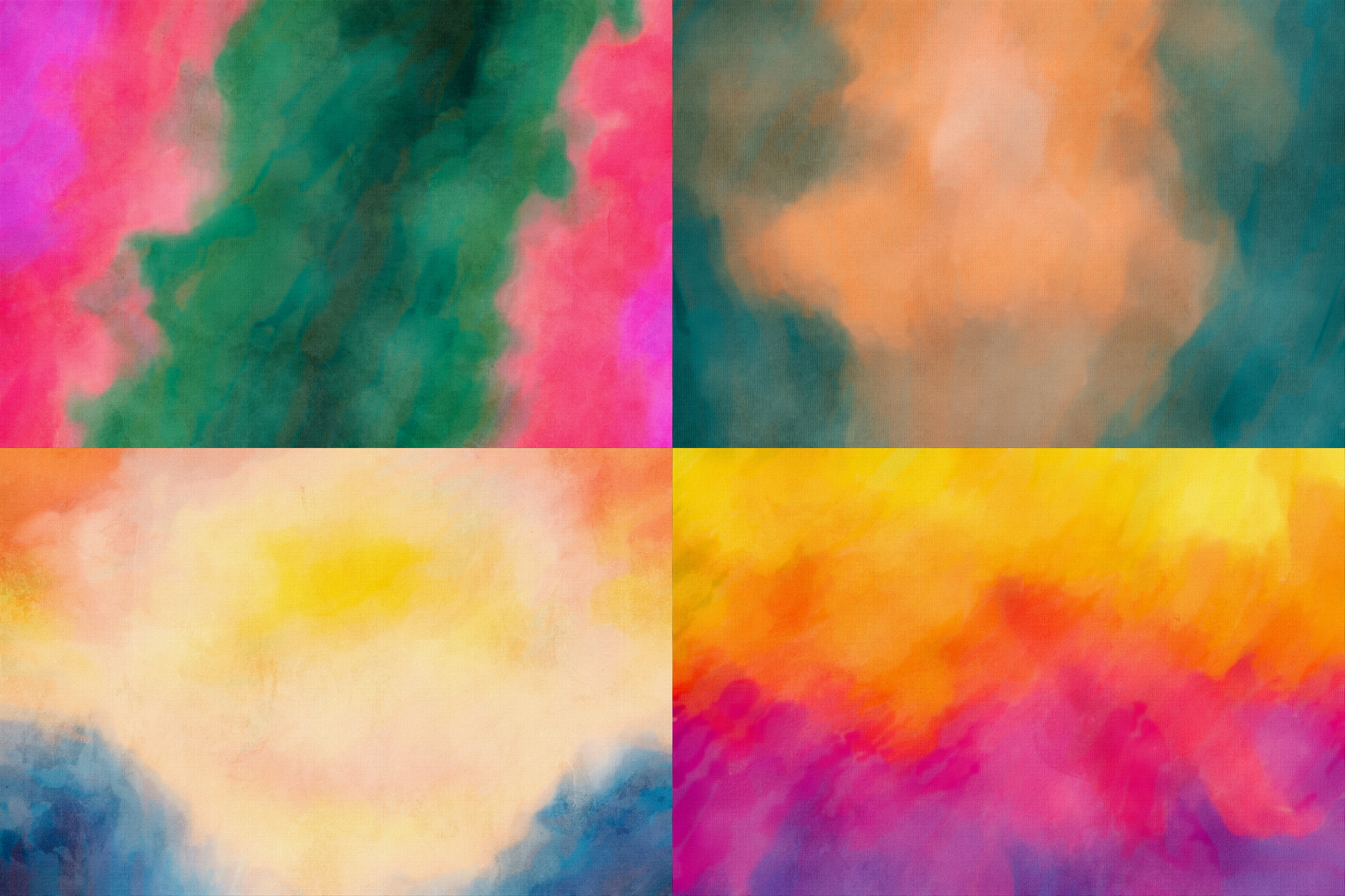 Abstract - Watercolor Textures Pack example image 5